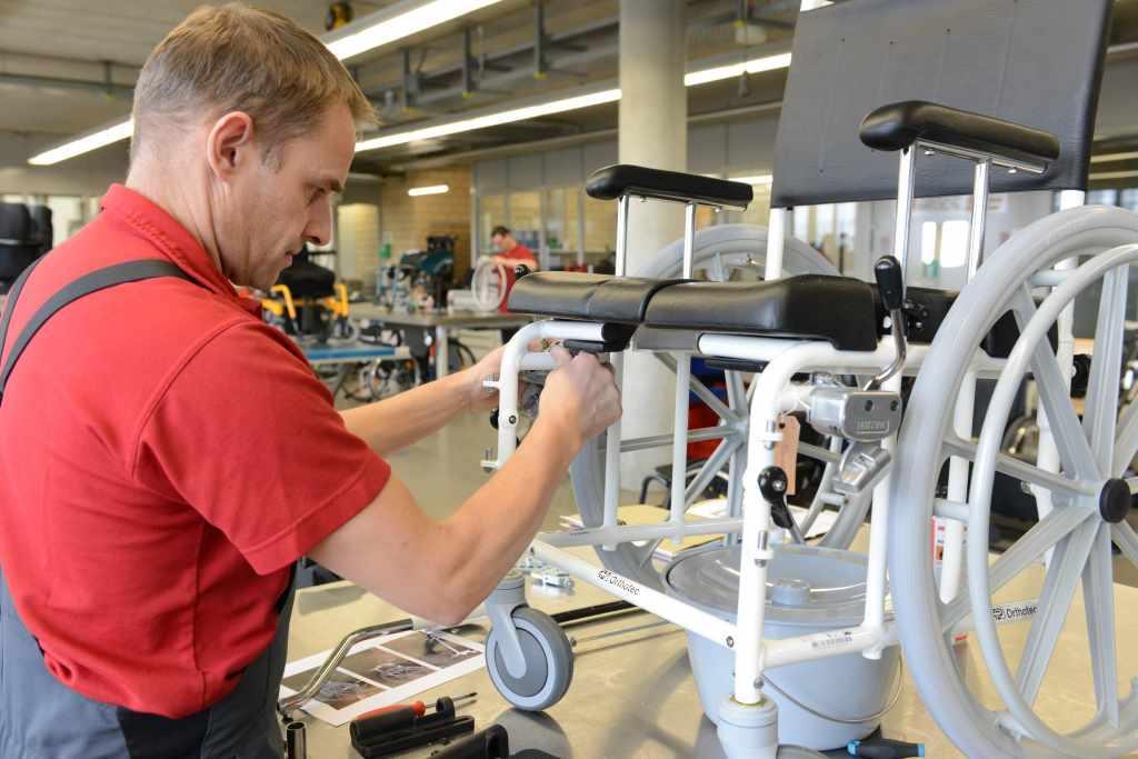 Rollstuhlmechanik Orthotec AG