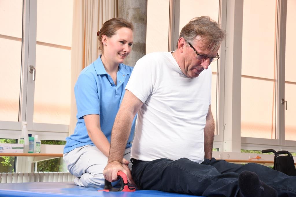Therapie im Schweizer Paraplegiker-Zentrum