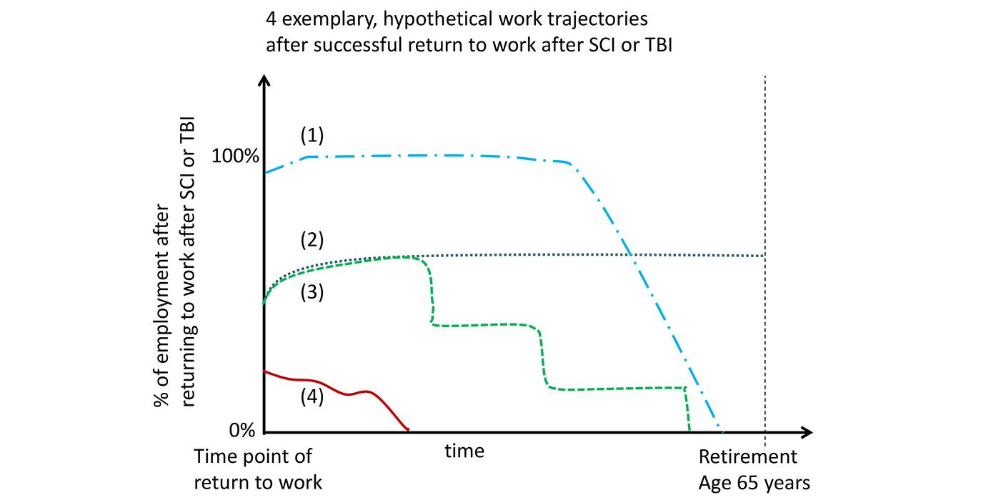Work trajectories after SCI Swiss Paraplegic Research
