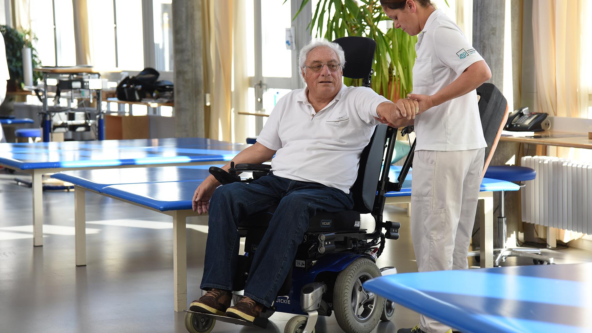 Physiotherapie im Schweizer Paraplegiker Zentrum