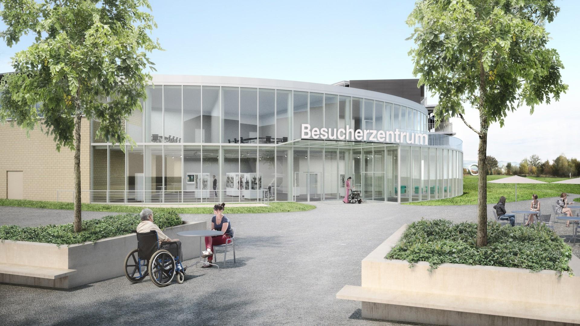 Fondazione svizzera per paraplegici - donazione centro visitatori