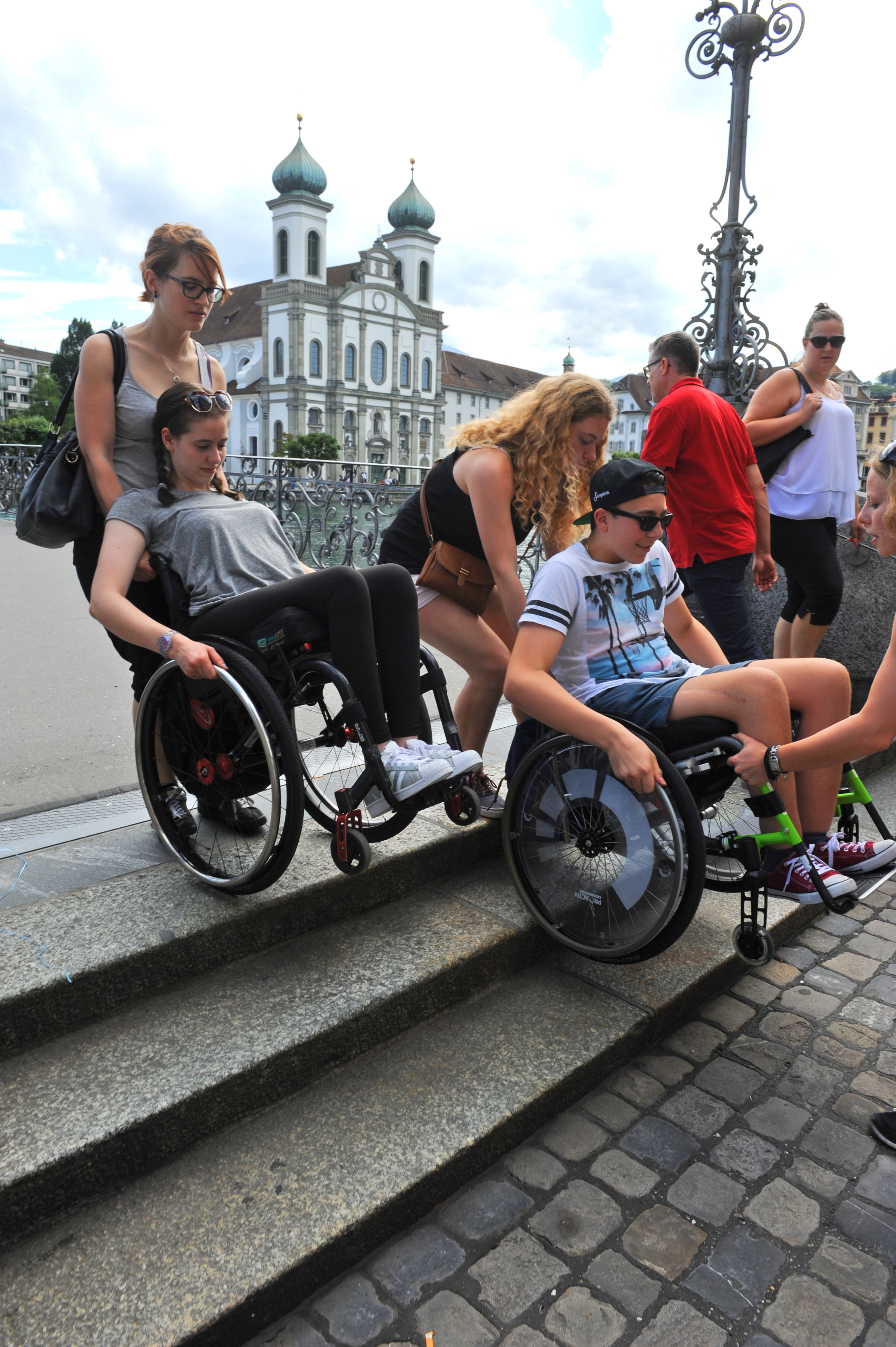 Sporttherapie Stadttraining
