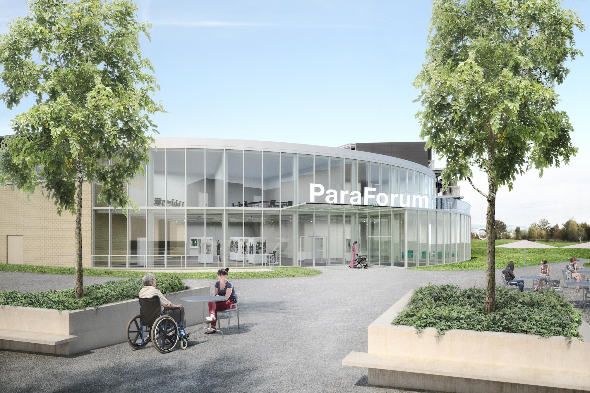 Schweizer Paraplegiker Stiftung - Spenden Projekt Besucherzentrum
