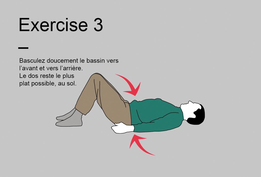 Le programme de 15 minutes - Exercise 3