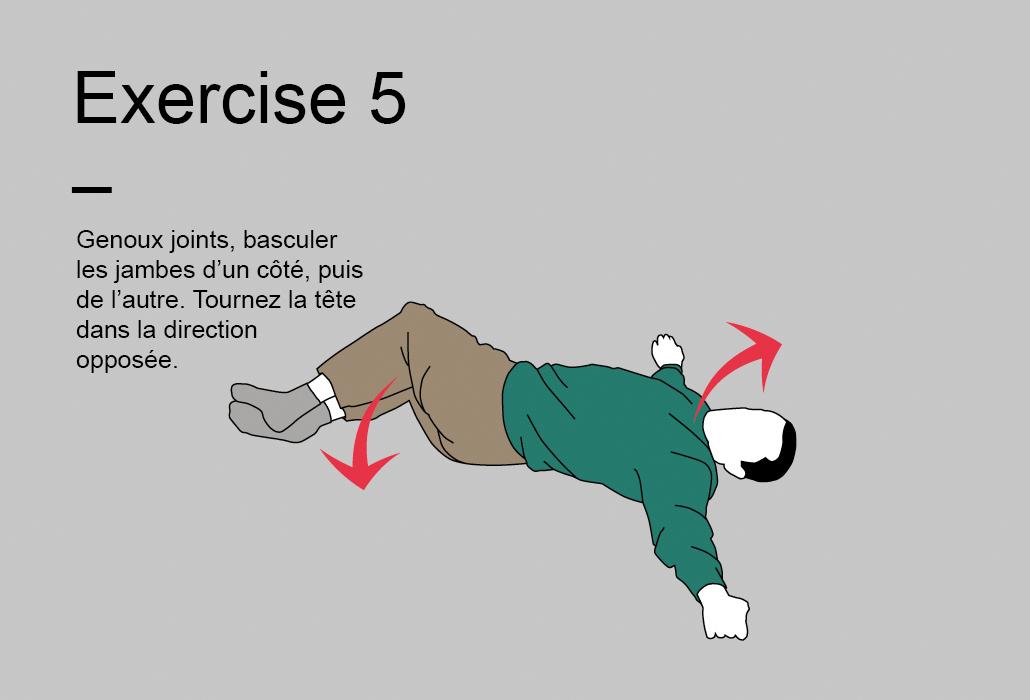 Le programme de 15 minutes - Exercise 5