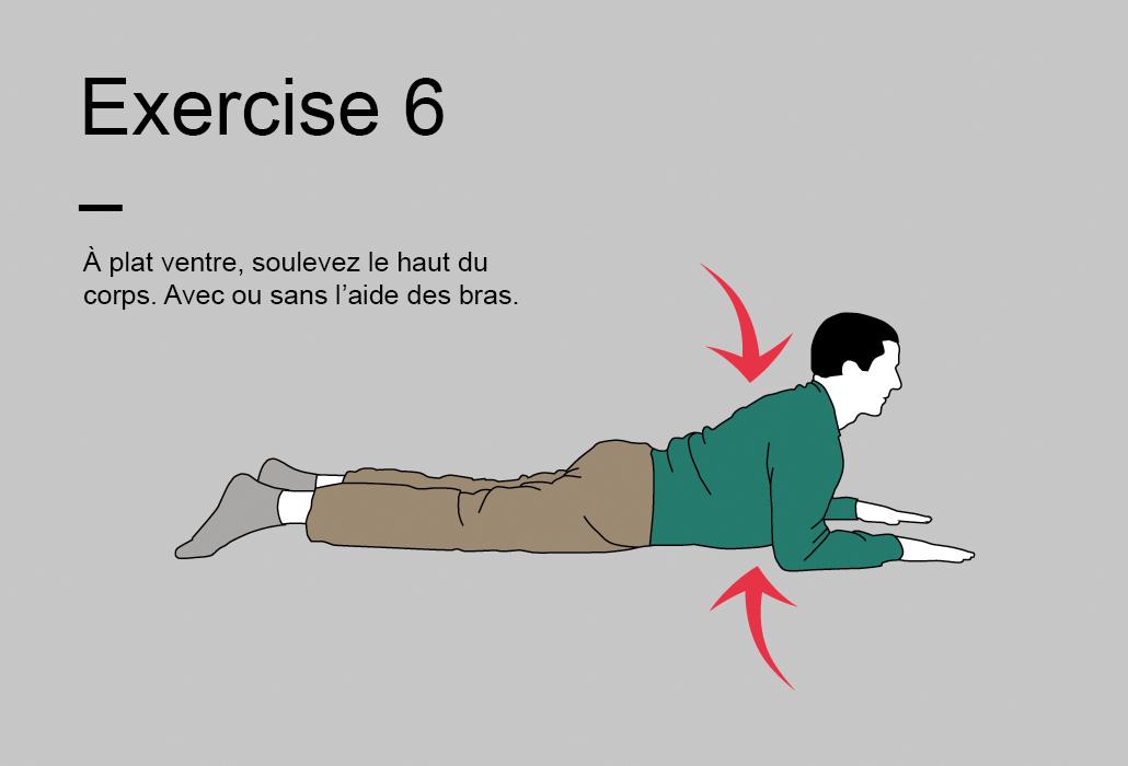 Le programme de 15 minutes - Exercise 6