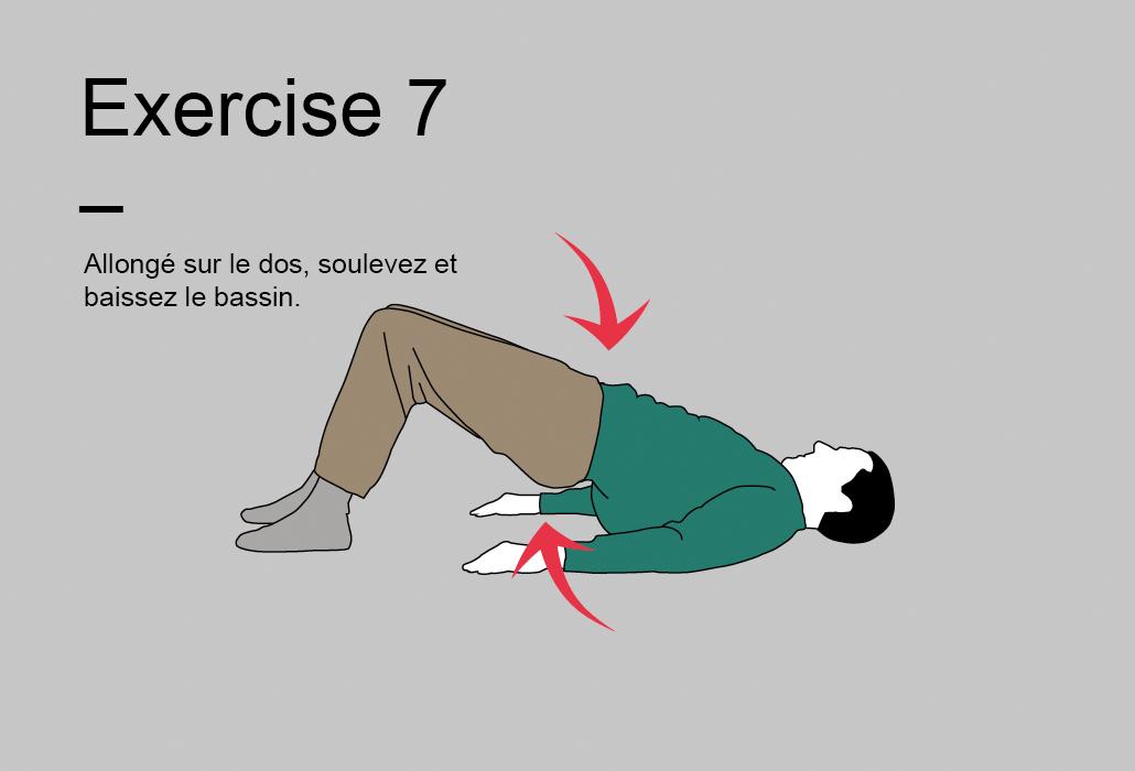 Le programme de 15 minutes - Exercise 7