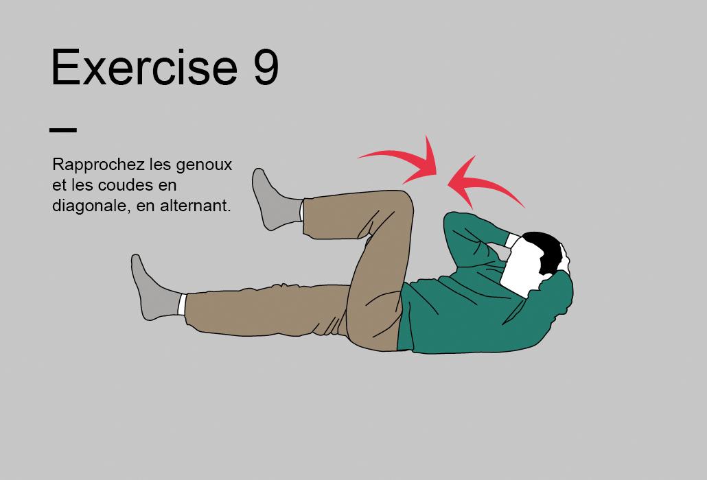 Le programme de 15 minutes - Exercise 9