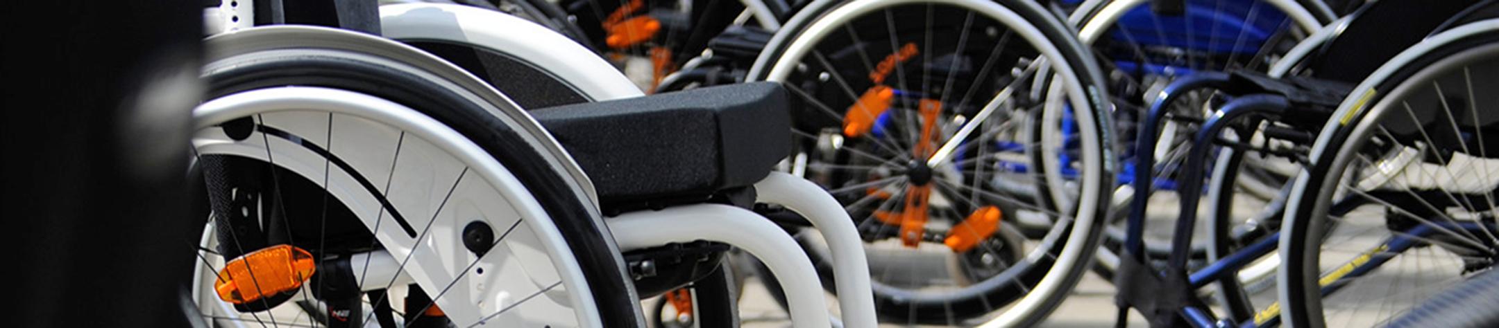 Rollstuhl-Sitz-Zentrum
