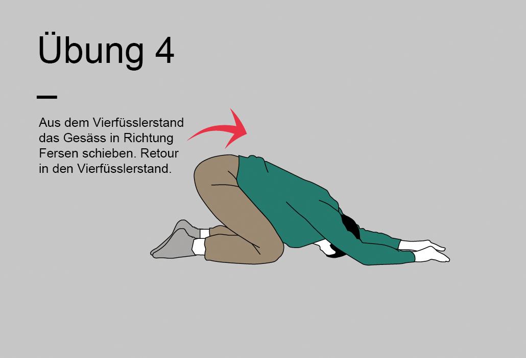Rueckenratgeber Rueckenuebung - Übung 4