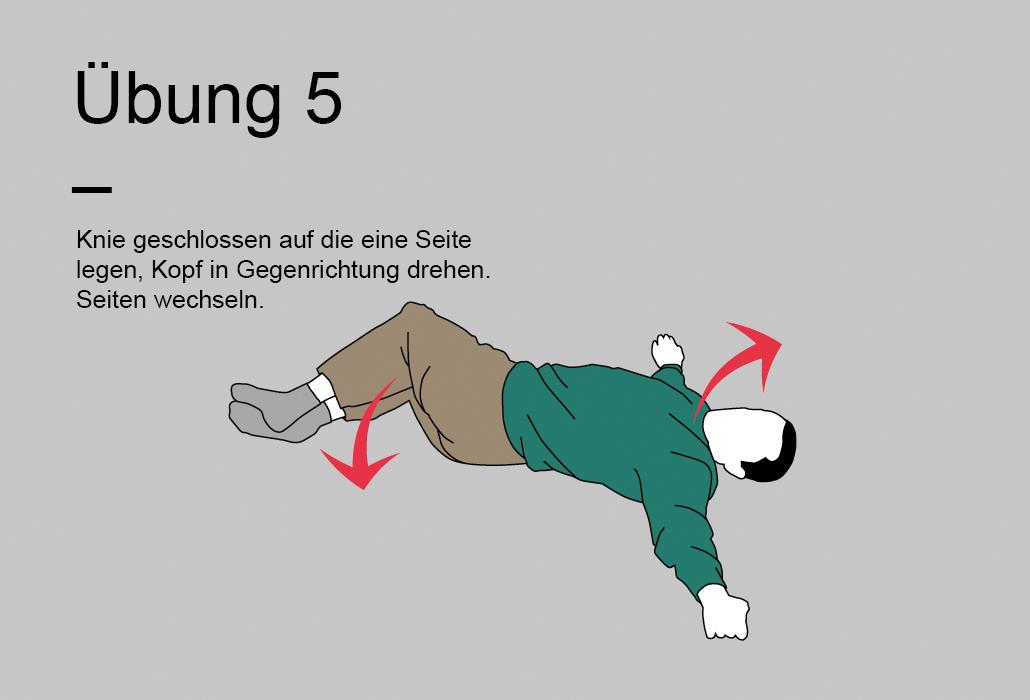 Rueckenratgeber Rueckenuebung - Übung 5