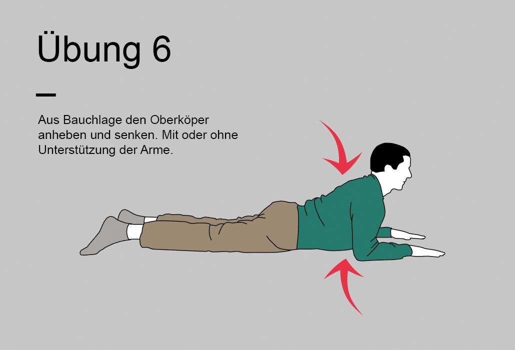 Rueckenratgeber Rueckenuebung - Übung 6