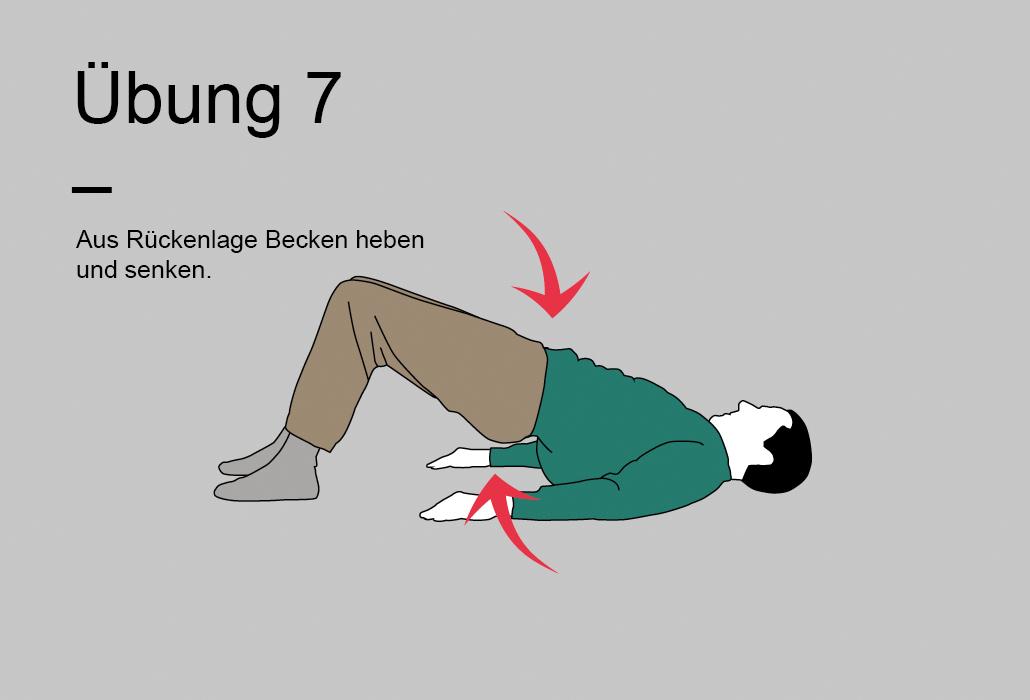 Rueckenratgeber Rueckenuebung - Übung 7