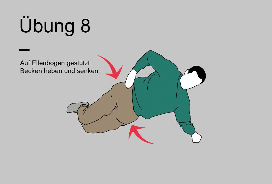 Rueckenratgeber Rueckenuebung - Übung 8