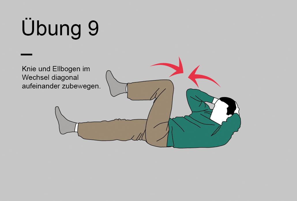 Rueckenratgeber Rueckenuebung - Übung 9