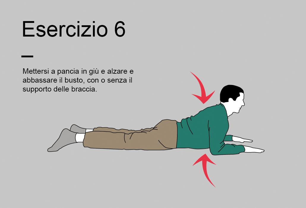 Suggerimenti il programma di 15 minuti - esercizio 6