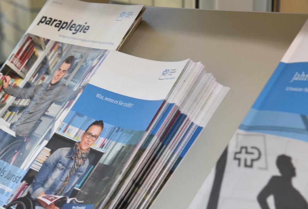 pubblicazioni Gruppo Svizzero Paraplegici