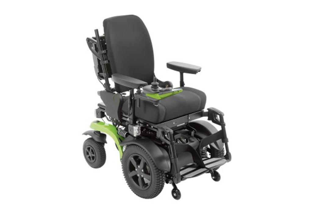Orthotec Rehabilitationstechnik Elektro-Rollstuhl Innenbereich- und Aussenbereich Otto Bock Juvo B6