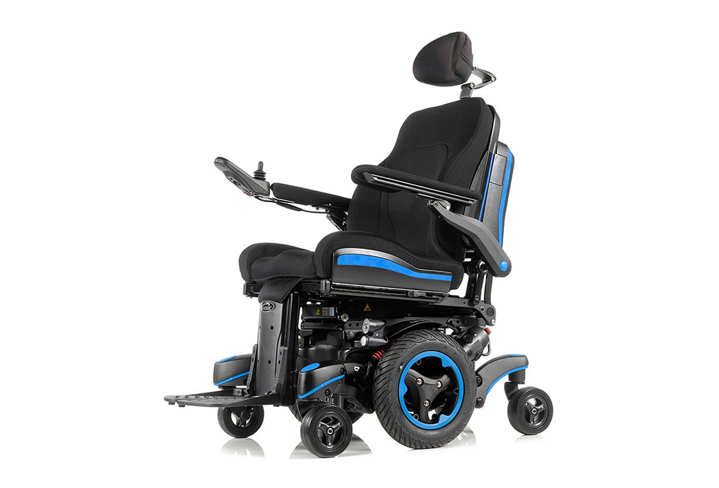 Orthotec Rehabilitationstechnik Elektro Rollstuhl Innen- Aussenbereich Sunrise Quickie Q700 M