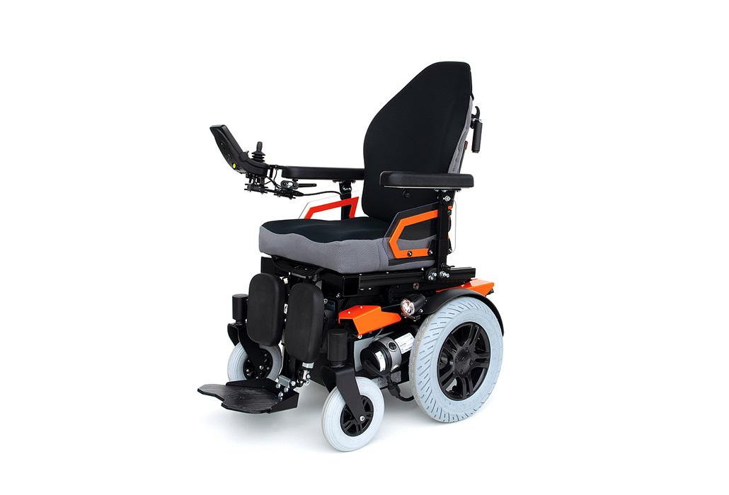 Orthotec Rehabilitationstechnik Elektro-Rollstuhl Innenbereich- und Aussenbereich Degonda Turbo Twist