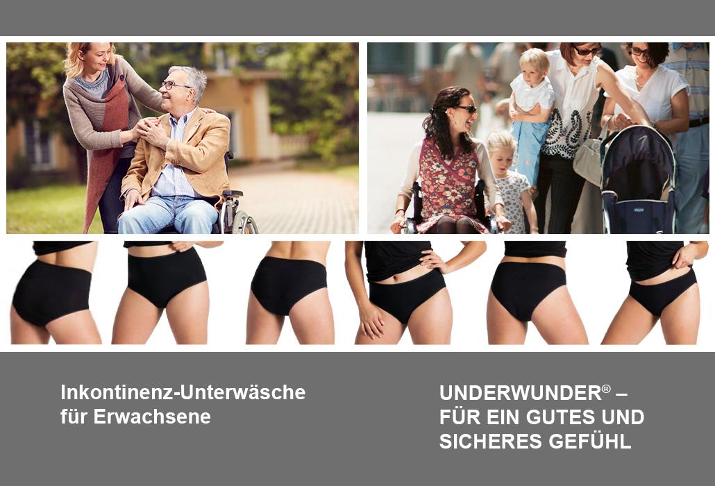 Orthotec Kontinenzhandel Underwunder Unterwäsche