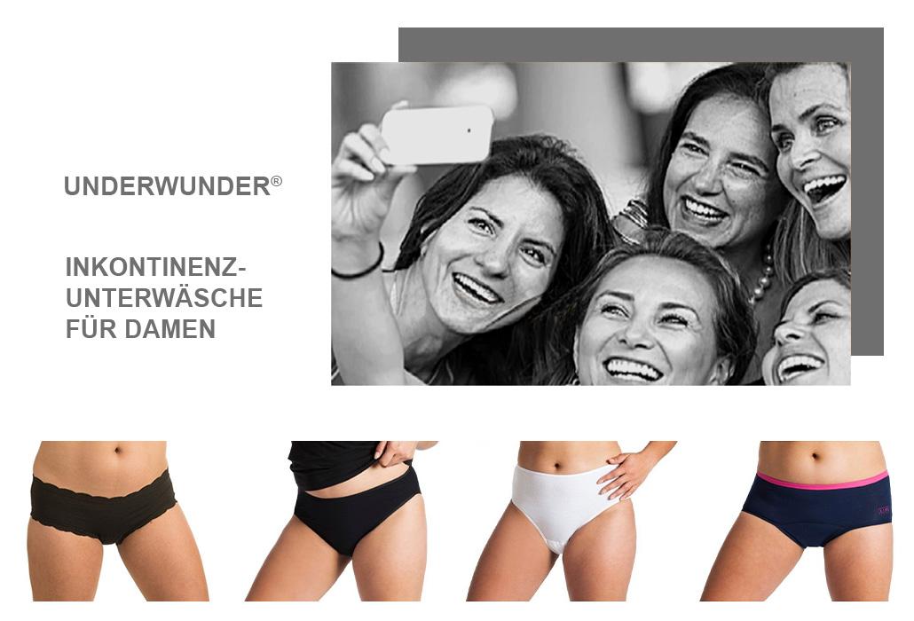 Orthotec Kontinenzhandel Underwunder Unterwäsche Damen