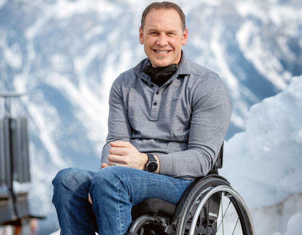 Silvano Beltrametti, ancien skieur Fondation suisse pour paraplegiques