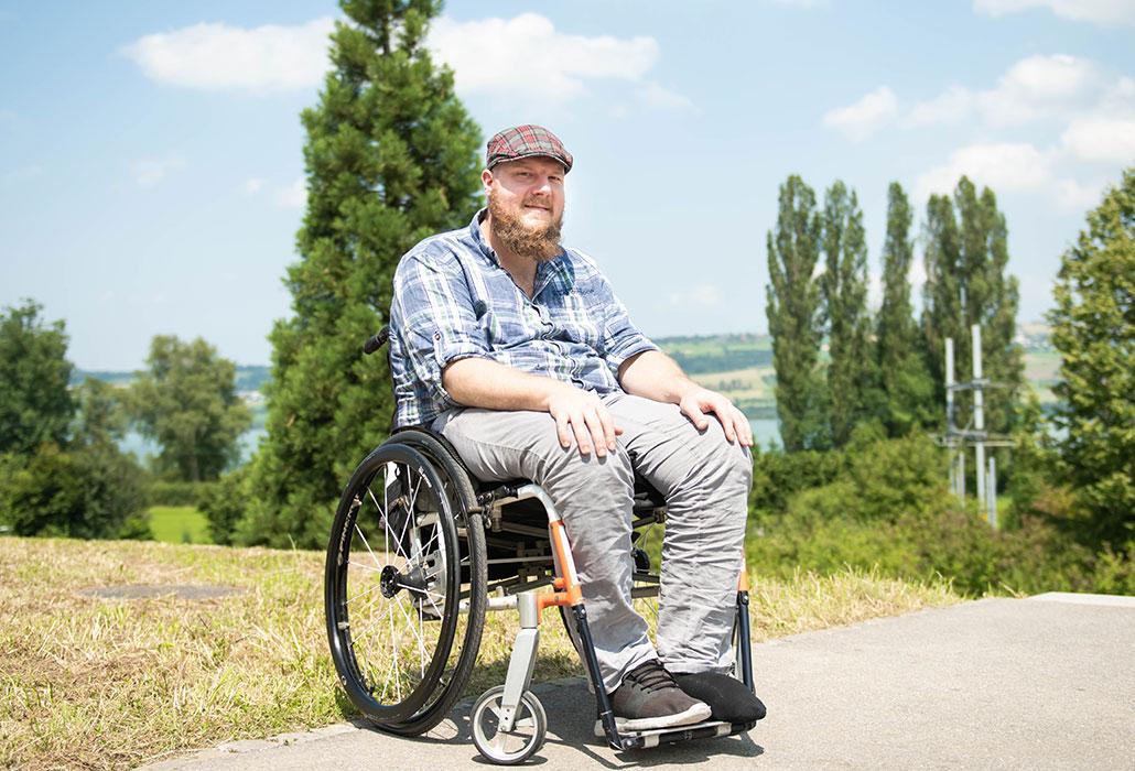 Bruno Grünenfelder hatte die Reha im Schweizer Paraplegiker-Zentrum