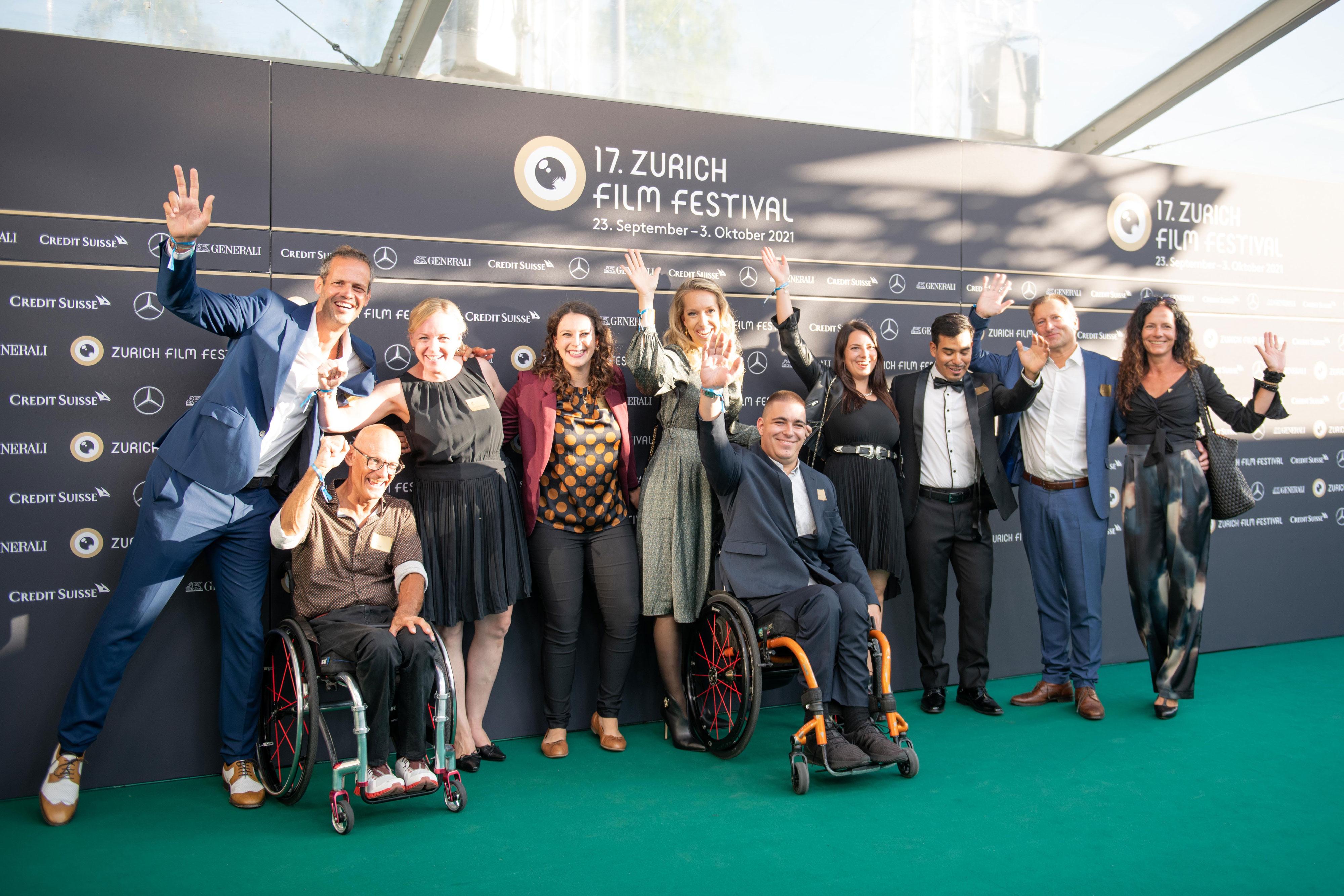 Schweizer Paraplegiker-Stiftung am Zurich Film Festival