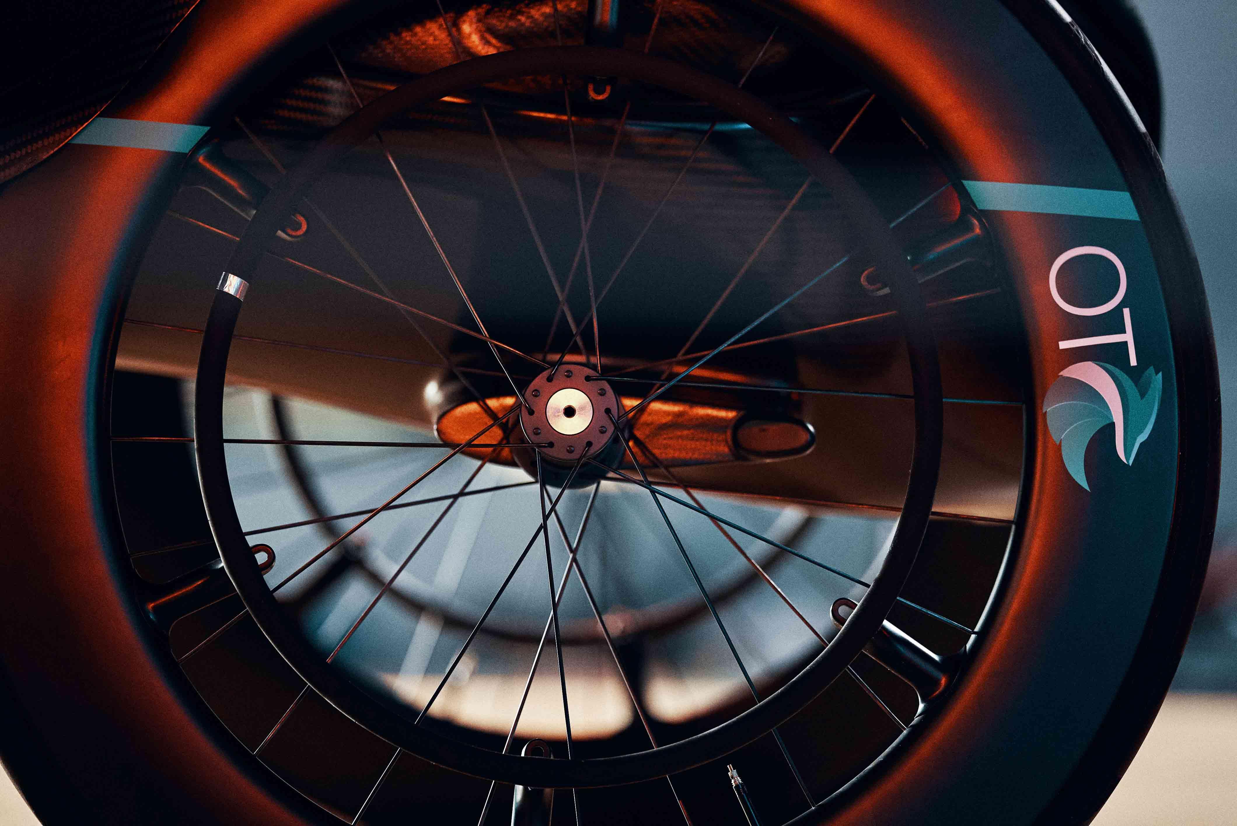 Swiss Side Laufrad für OT FOXX Rennrollstuhl