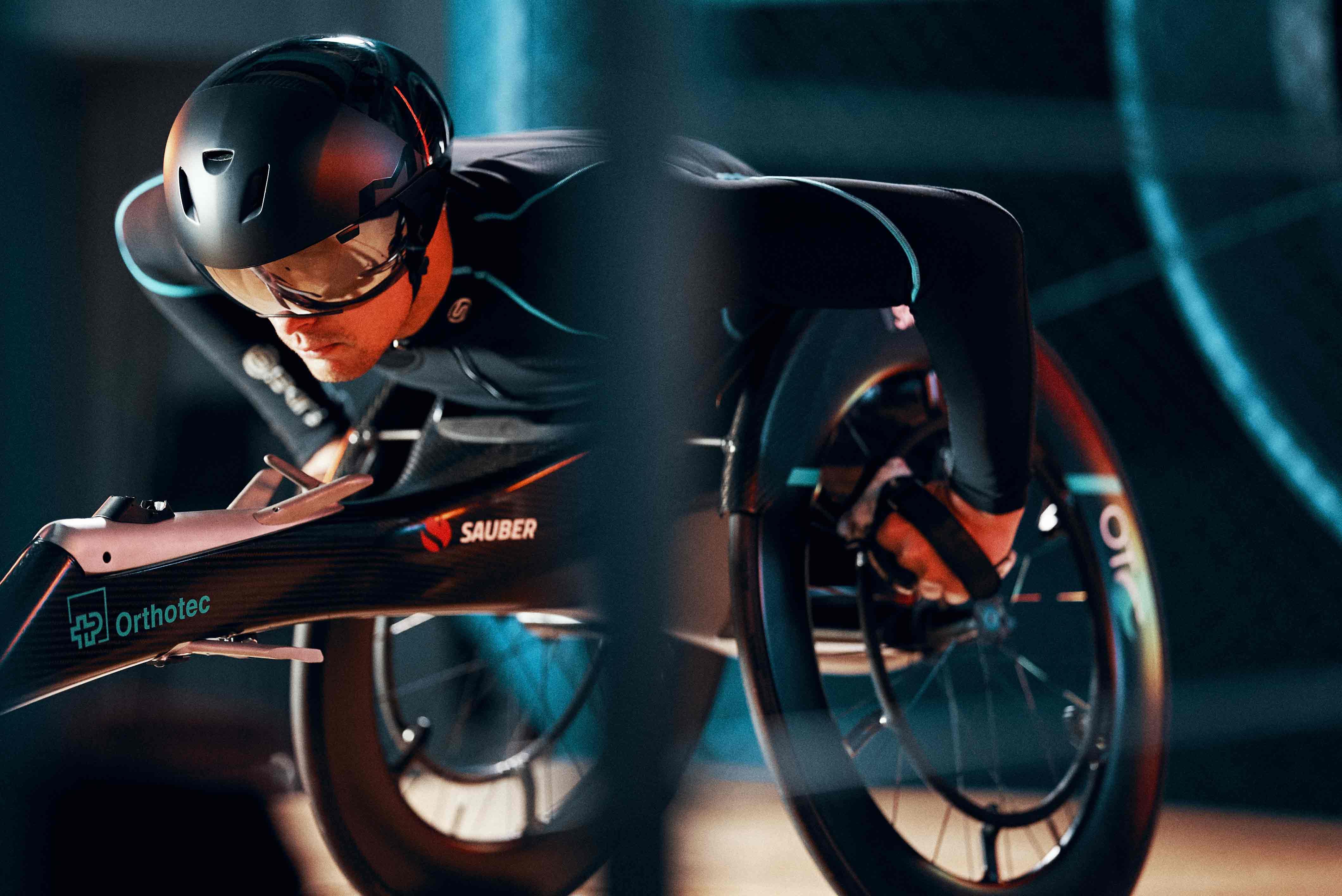 Swiss Side Laufrad gefahren von Marcel Hug