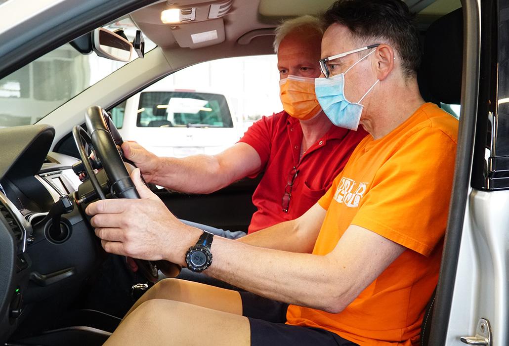 Orthotec Bewegungsfreiheit Cisis erste Fahrstunde