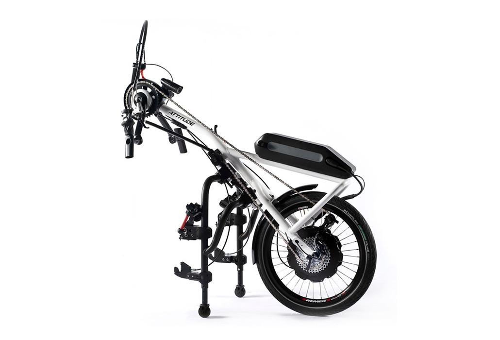 Orthotec Rehatechnik Elektro Handbike Sopur Attitude Power