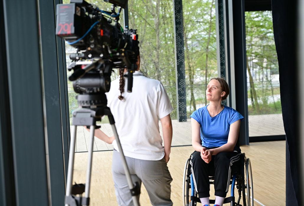 Perspektivenfilm das Velo Schweizer Paraplegiker-Stiftung