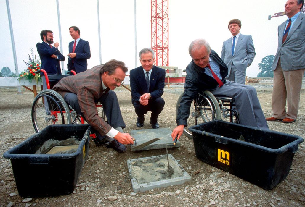 Grundsteinlegung SPZ 1987