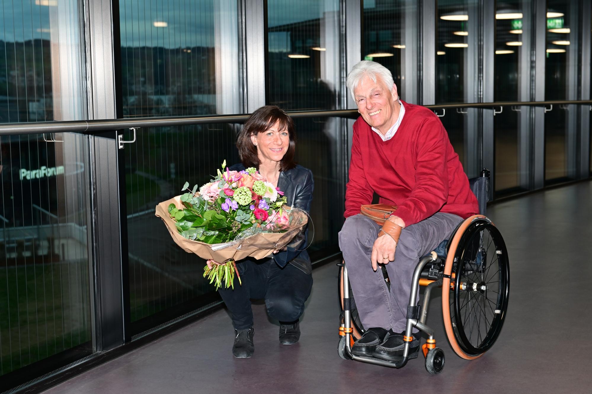Heidi Hanselmann wird nach Daniel Joggi Präsidentin der Schweizer Paraplegiker-Stiftung.