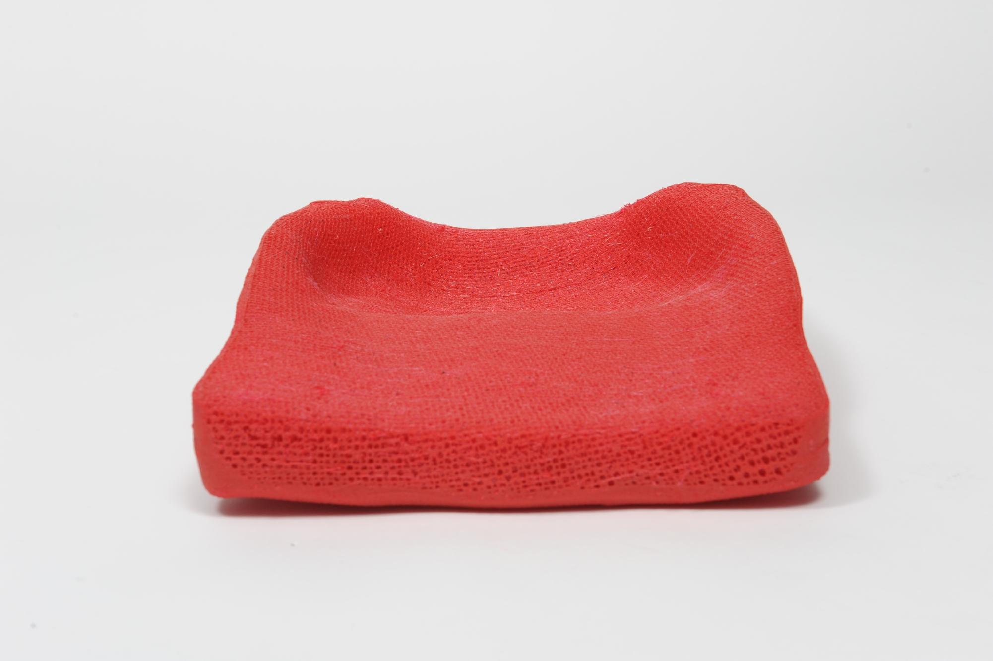 Ein mit der 3D-Drucktechnik hergestelltes Sitzkissen