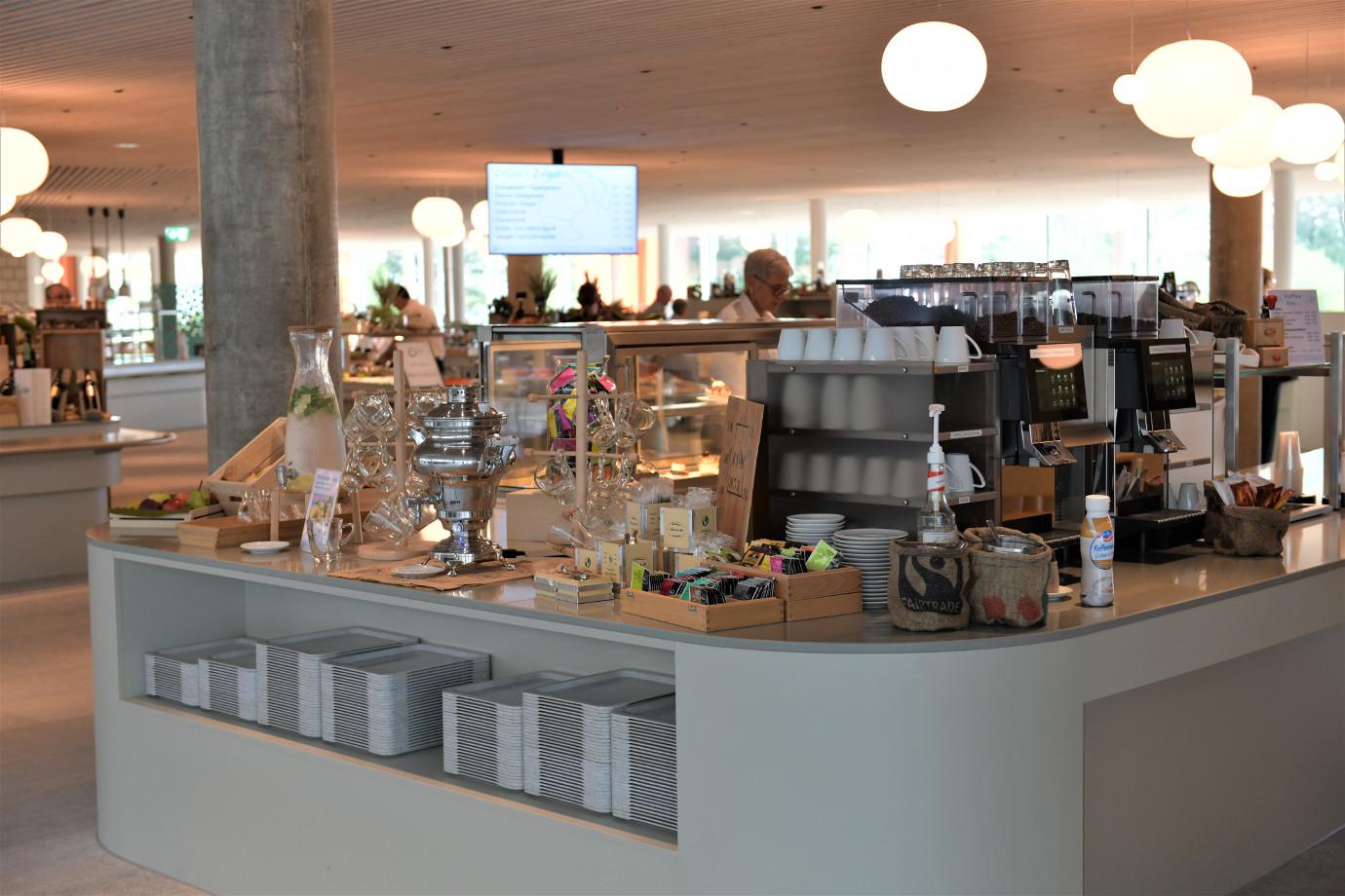 Kaffee-, Teestation