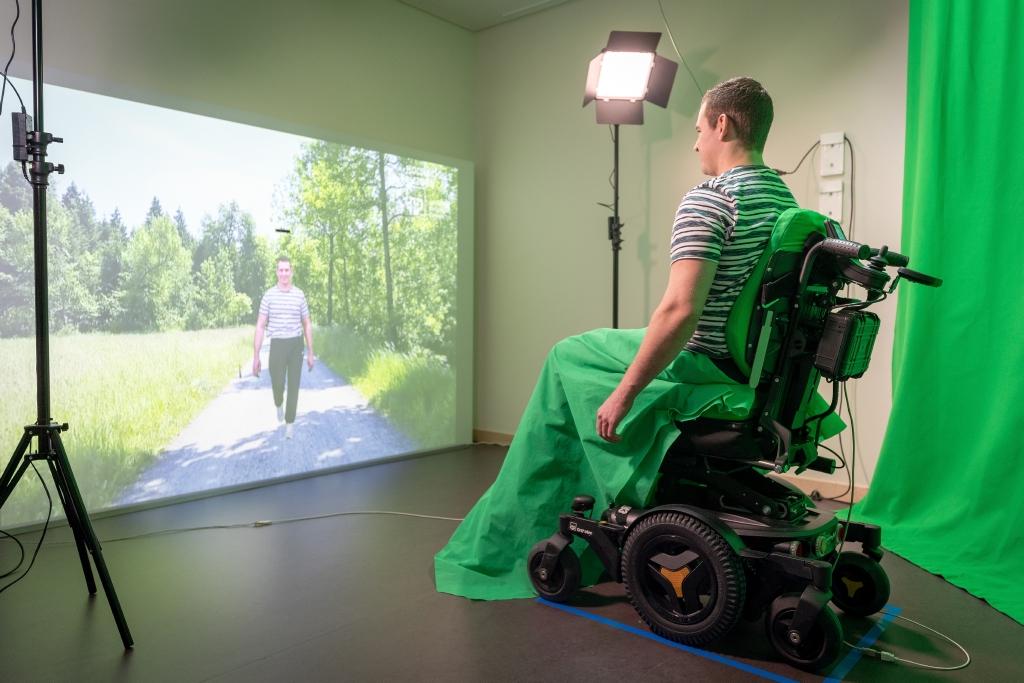 Virtual Walk Therapie Patient