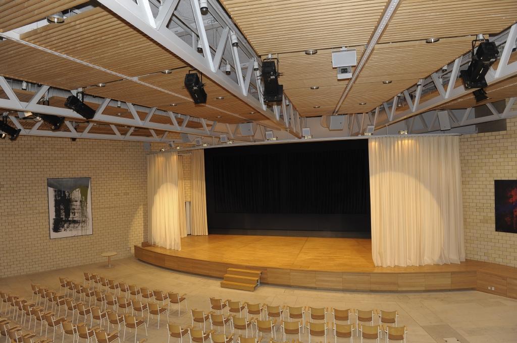 Aula SPZ Konzertbestuhlung