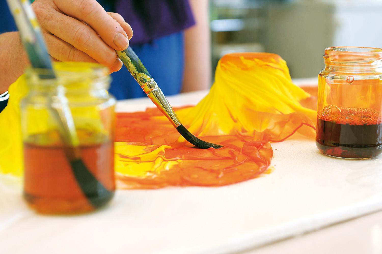 Atelier für Gestaltung Seidenmalen