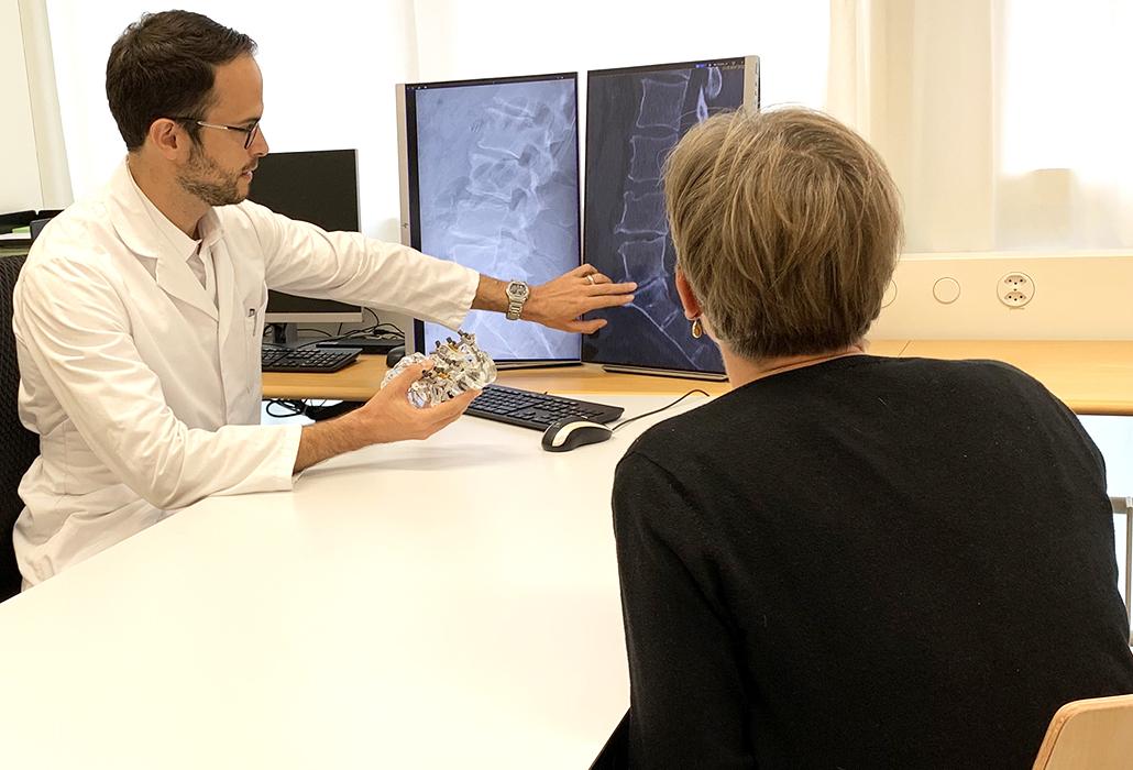 Sprechstunde mit Michael Fiechter im Schweizer Paraplegiker-Zentrum