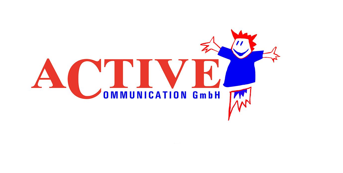 Das erste Logo von Active Communication