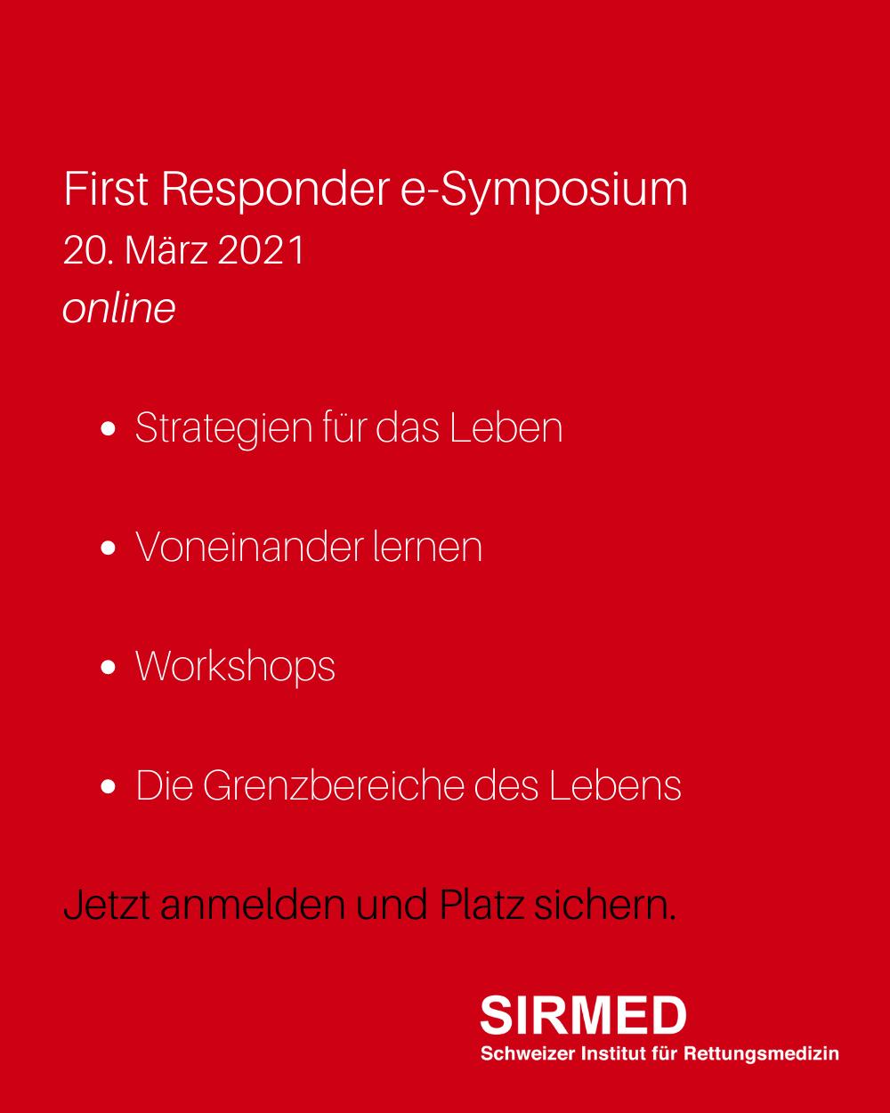 First Responder Symposium 2021