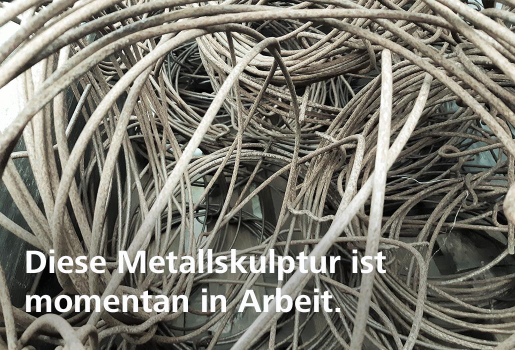 fortschritt_Metallskulptur