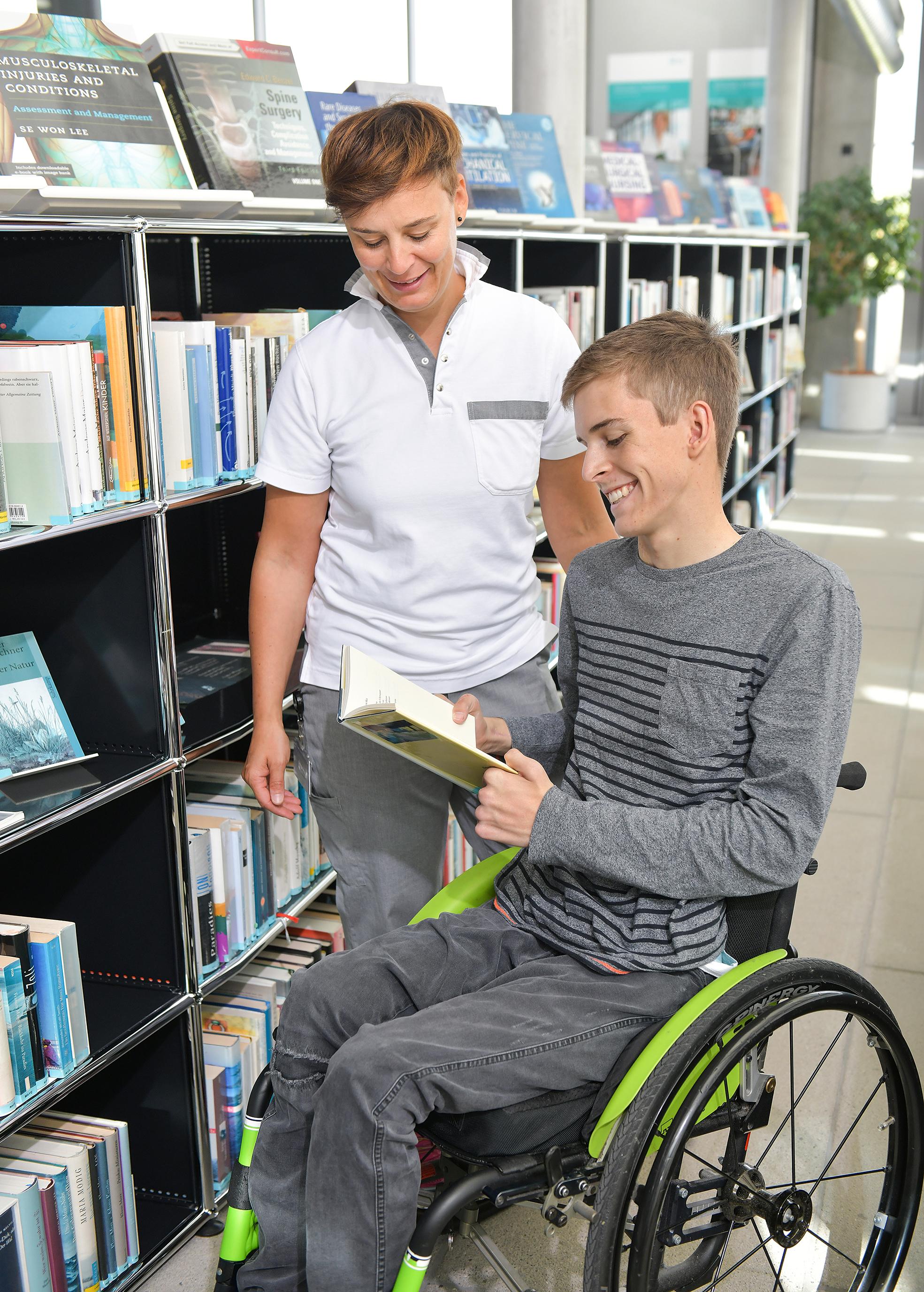 Schweizer Paraplegiker-Stiftung Bibliothek