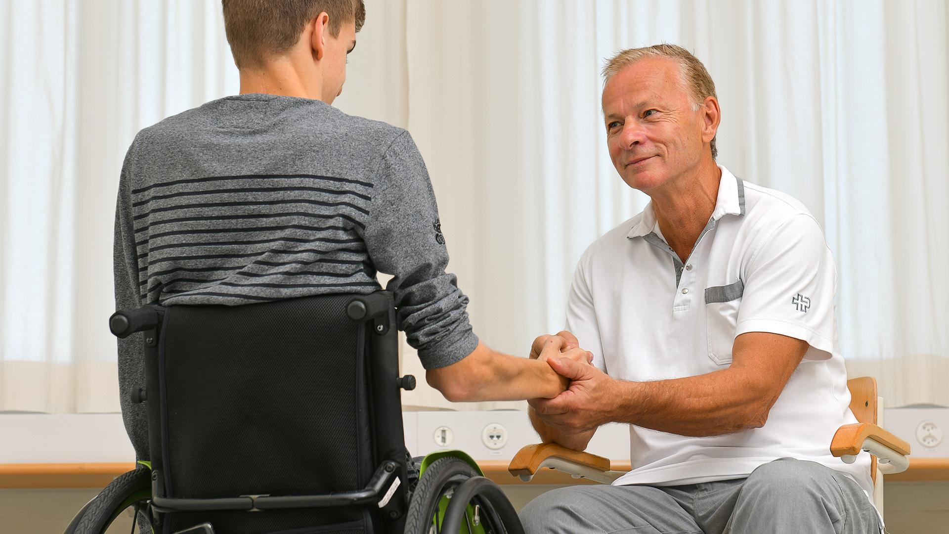 Schweizer Paraplegiker-Zentrum Tetrahandchirurgie Jan Fridén