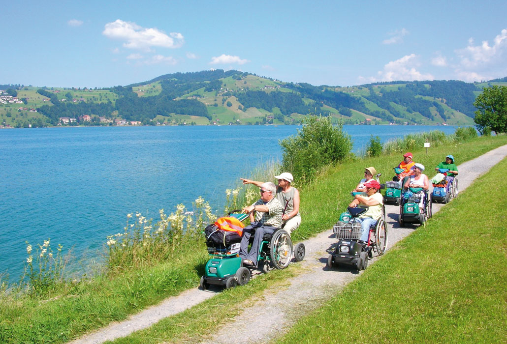 Ausflug mit dem Swisstrac