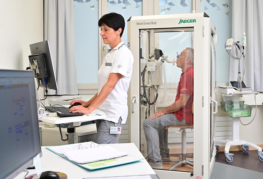 Komplikationen der Lungenfunktion bei Querschnittlähmung