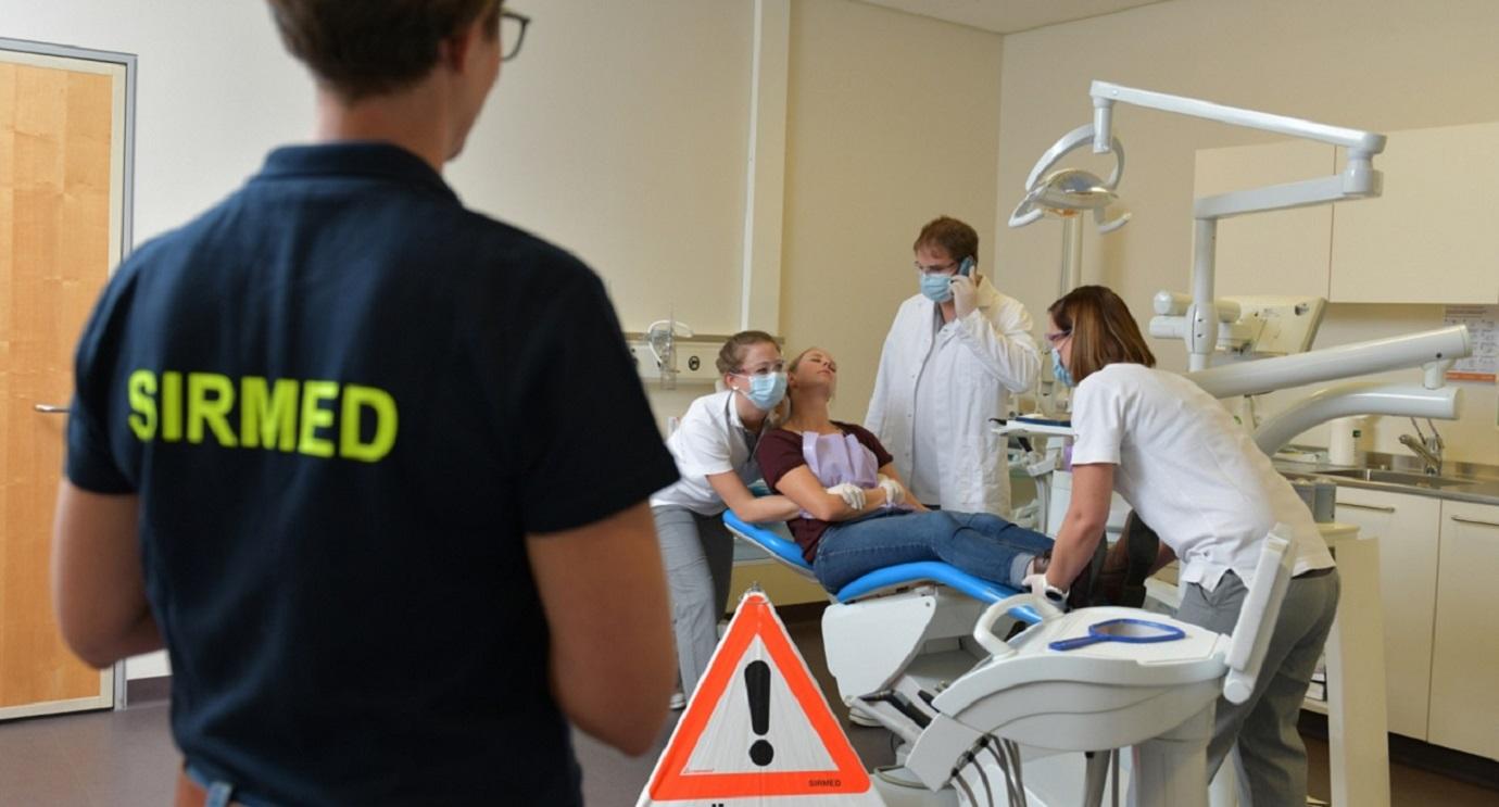 SIRMED Notfallmanagement in einer Zahnarztpraxis